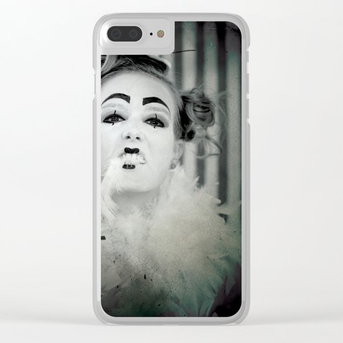 Clowning Around Clear iPhone Case