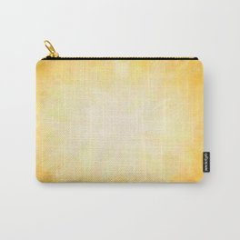 Golden Sunburst Carry-All Pouch