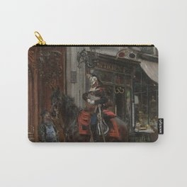 The Dispatch Bearer - Giovanni Boldini Carry-All Pouch