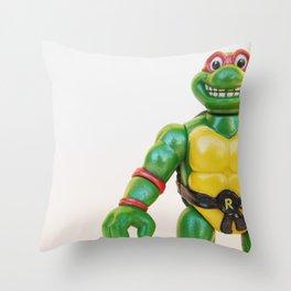 Cowabunga Dude! Throw Pillow