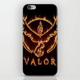 TEAM VALOR iPhone Skin
