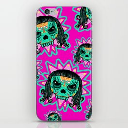 Cute Skull Vampire iPhone Skin