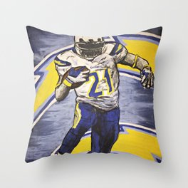 CHARGERS Throw Pillow