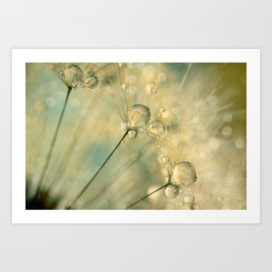 Dandy Drops & Sparkles Art Print