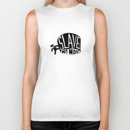 SLAVE no more Biker Tank