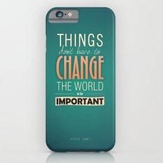 steve jobs iPhone 6s Slim Case