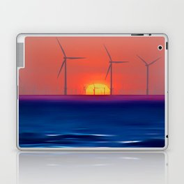 Windmills to the Sun Laptop & iPad Skin