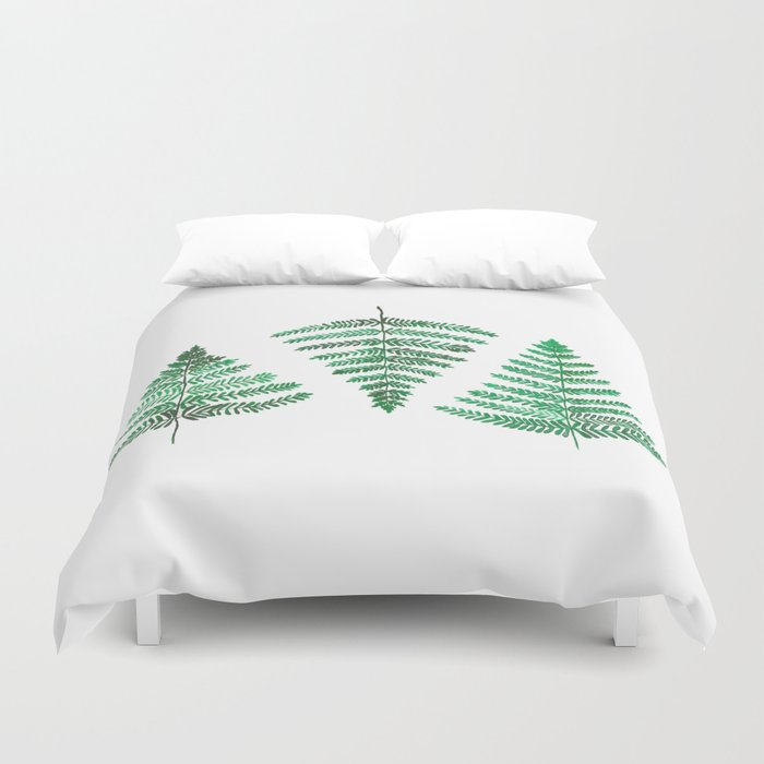 Fiordland Forest Ferns Duvet Cover
