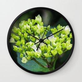 Heart - Hydrangea Wall Clock