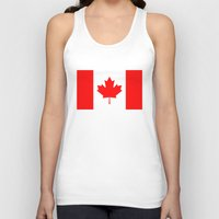 canada Tank Tops featuring Canada by McGrathDesigns