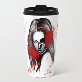 The half-demon half-angel woman V2 Travel Mug
