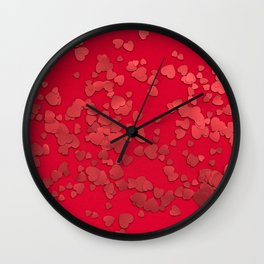 love #society6 #decor #buyart Wall Clock