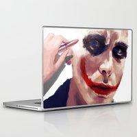 christian Laptop & iPad Skins featuring Christian Bale by Pazu Cheng