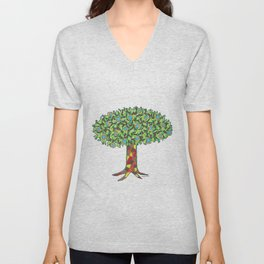 Fruit Tree Unisex V-Neck