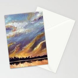 Fire on the Water Stationery Cards
