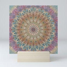 Gentle Touch Mandala Art Mini Art Print