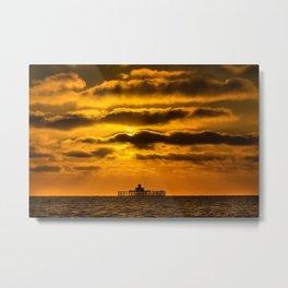 Herne Bay Pier Metal Print