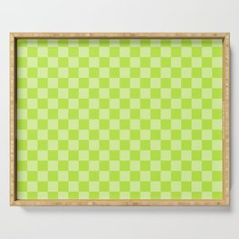 Citrus Checkerboard Serving Tray