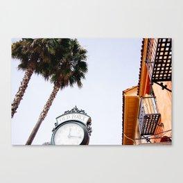 State St, Santa Barbara, CA Canvas Print