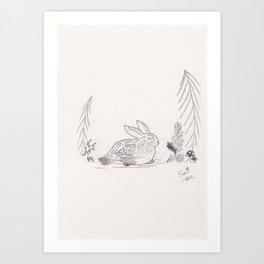 Skvader Art Print