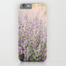 Purple flowers Slim Case iPhone 6s