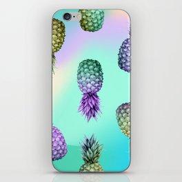 Pineapple Glow iPhone Skin