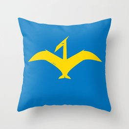Simplesaurs: Dactyl Throw Pillow