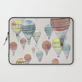 Voyages Hot Air Balloons Laptop Sleeve
