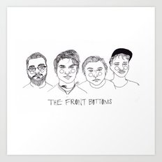 The Front Bottoms Art Print