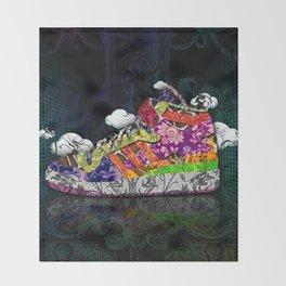 Horror Vacui - Baskets01 Throw Blanket