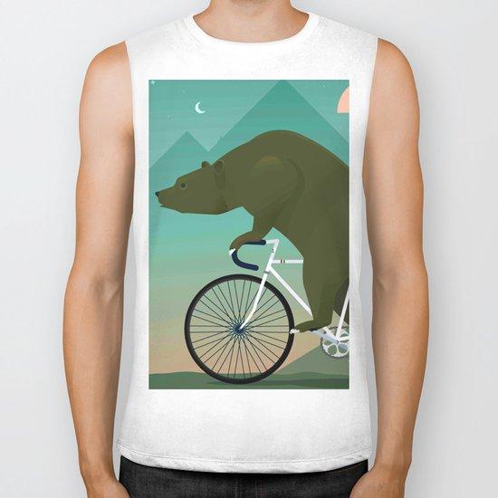 Bear Rider Biker Tank