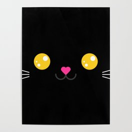 CARBON the kitty (Chibipalz) Poster