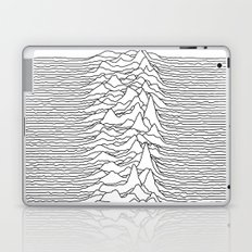 Unknown Pleasures - White Laptop & iPad Skin