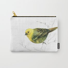 Mr Mohua , yellowhead New Zealand native bird Carry-All Pouch