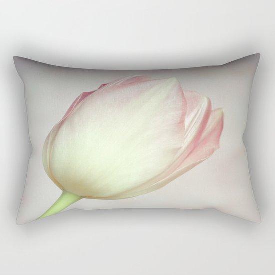 Lovely Tulip Rectangular Pillow