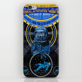 Galactic Lasers From Outer Space Adventure iPhone Skin