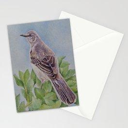 Mockingbird Watercolor Stationery Cards