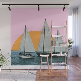 Into the Sunset Wall Mural