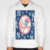 yankees Hoodies featuring NY YANKEES by I Love Decor