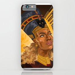 Black is Queen iPhone Case