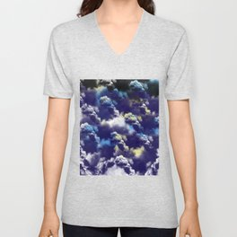 Abstract 44 Unisex V-Neck