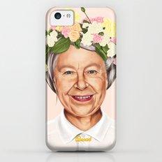 Hipstory - Queen Elizabeth Slim Case iPhone 5c