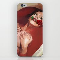 evil iPhone & iPod Skins featuring Evil by Thanya Castrillón