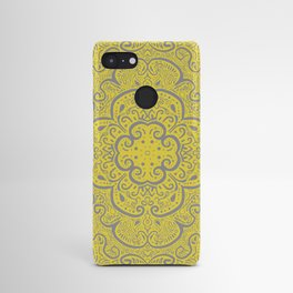 Illuminating Yellow & Ultimate Gray Pattern Android Case