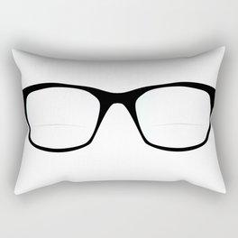 Pair Of Optical Glasses Rectangular Pillow