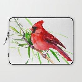 Cardinal Bird Laptop Sleeve