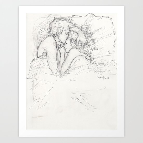 Dream a Little Dream Art Print