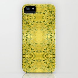 LoVinG V - yellow iPhone Case