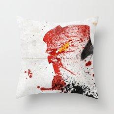 Evil-Boy Throw Pillow