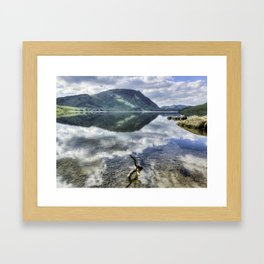 Crummock Water Framed Art Print